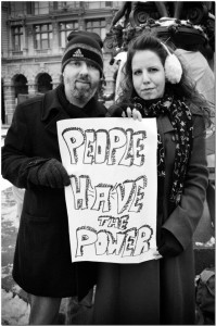 Occupy with Signs