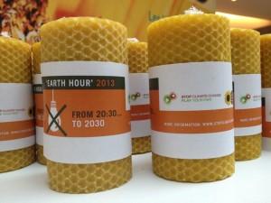 Earth Hour bijenwaskaarsen f Eric Fels