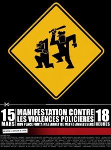 Manif 15M politiegeweld