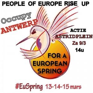 OA EU spring aanloop