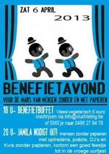 Benefiet Gent zonder papieren