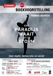 Boekvoorstelling Thomas Decreus