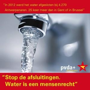 Stop waterafsluitingen Antwerpen