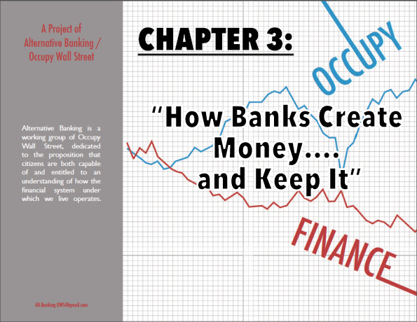 """How banks create money...and keep it"""
