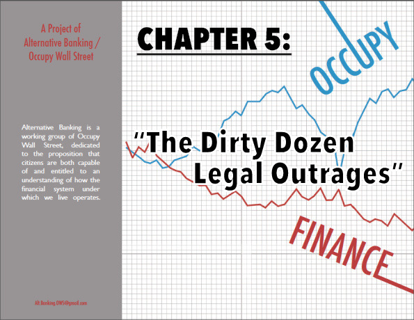 "Chapter 5.  ""The Dirty Dozen Legal Outrages"""