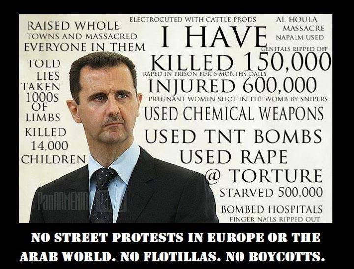 Dictator and war criminal Bashar Al-Assad