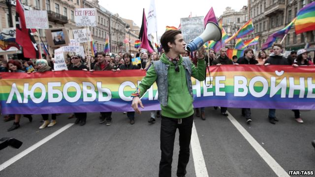 The Russian LGBTQ community.  Russian authorities have routinely denied permits for Pride parades, intimidated and arrested LGBT activists and condoned anti-LGBT statements by government officials
