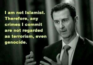 Assad getting away with murder